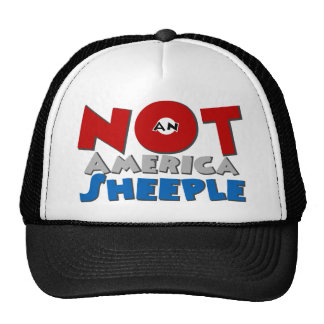 Not an American Sheeple Hats