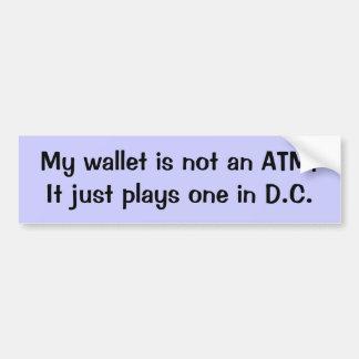Not an ATM Bumper Sticker