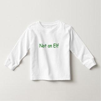 Not an Elf Toddler T-Shirt