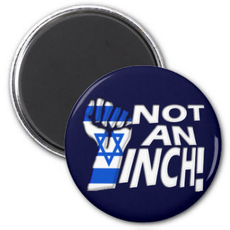Not an Inch 2 Inch Round Magnet