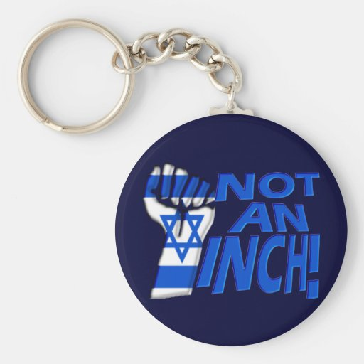 Not an Inch Key Chains