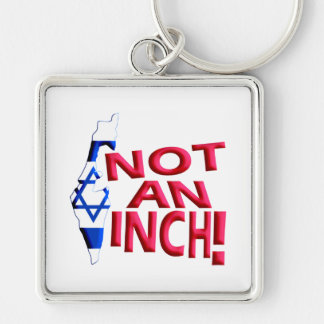 Not an Inch Keychain