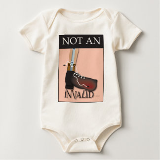 Not An Invalid Baby Bodysuit
