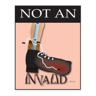 Not An Invalid Postcard