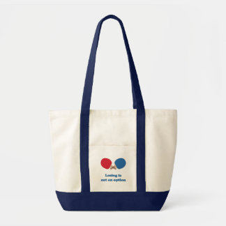 Not an Option Ping Pong Canvas Bag