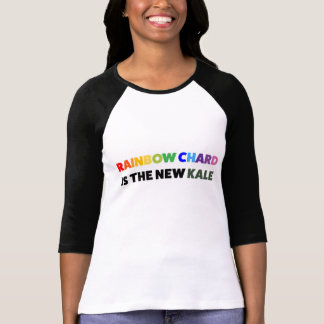 Not Another Kale T-shirt - Rainbow Chard Edition