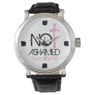 """""""Not Ashamed"""" bible verse encouragement Watch"""