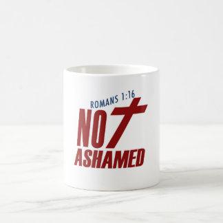 Not Ashamed Classic White Coffee Mug