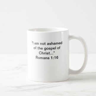 Not ashamed Mug