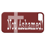 Not Ashamed! Romans 1:16 (with Cross) iPhone 5 Cases