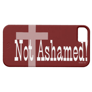 Not Ashamed! Romans 1:16 (with Cross) iPhone SE/5/5s Case