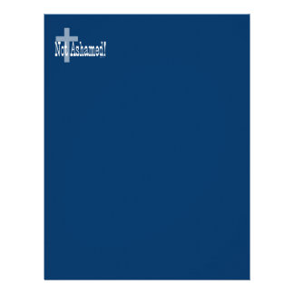 Not Ashamed! Romans 1:16 (with Cross) Letterhead
