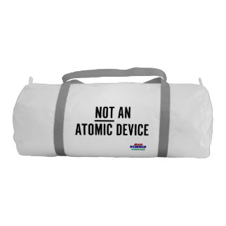(Not) Atomic Device Transport Container Duffle Bag