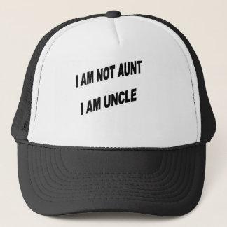 NOT AUNT,  UNCLE TRUCKER HAT