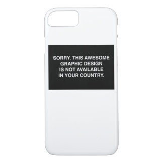 Not available in your country iPhone 8/7 case