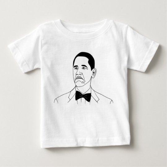 Not Bad Barack Obama Rage Face Meme Baby T-Shirt