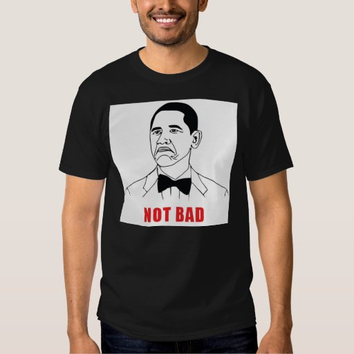 Not Bad Black T Shirt