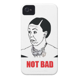 Not Bad - Michelle Obama iPhone 4 Case-Mate Cases