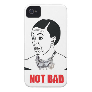 Not Bad - Michelle Obama iPhone 4 Cover