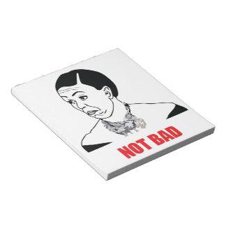 Not Bad - Michelle Obama Memo Pad
