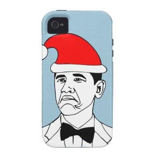 not bad xmas meme vibe iPhone 4 cases