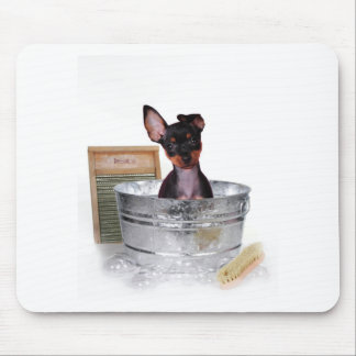 Not bath time again mouse pad