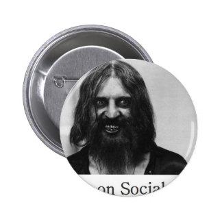 Not Big on Social Graces Pinback Button