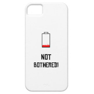 Not Bothered Iphone 5 case
