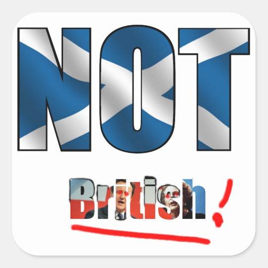 Not British Sticker