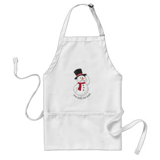 Not Built For Heat! Aprons