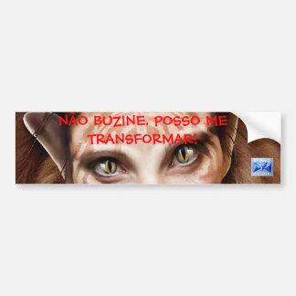 not buzine bumper sticker