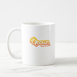 not by chicago, qtown classic white coffee mug