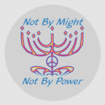 Not by Might Stickers