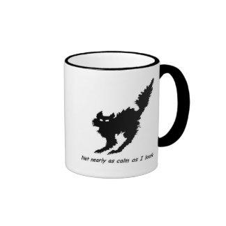 Not Calm Cat Mug