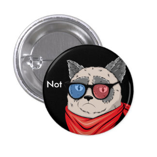 Not cat 1 inch round button