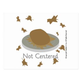 Not Centered Postcard