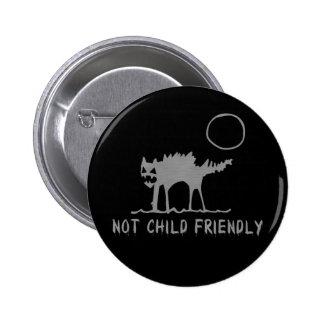 Not Child Friendly 2 Inch Round Button