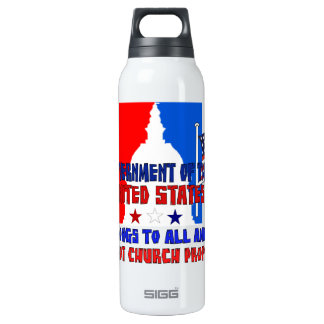 Not Church Property 16 Oz Insulated SIGG Thermos Water Bottle