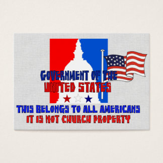 Not Church Property Business Card