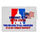 Not Church Property Greeting Card