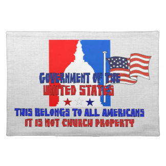 Not Church Property Placemat