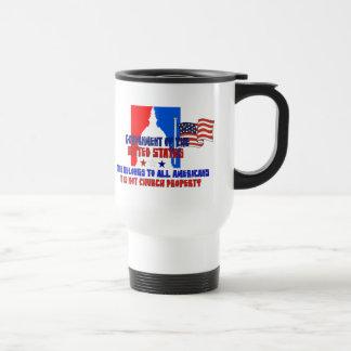 Not Church Property Travel Mug