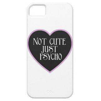 Not cute just Psycho purple+black mask w iPhone SE/5/5s Case