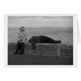 Not Dead - Just Sleeping Card