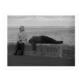 Not Dead - Just Sleeping Postcard