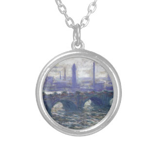 NOT DETECTED by Claude Monet Round Pendant Necklace