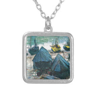 NOT DETECTED by Claude Monet Square Pendant Necklace