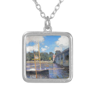 NOT DETECTED by Claude Monet Square Pendant Necklace