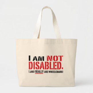 Not Disabled Bag