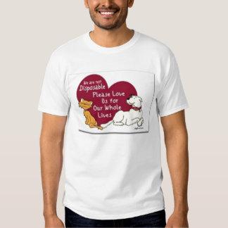Not Disposable cat/dog T Shirt